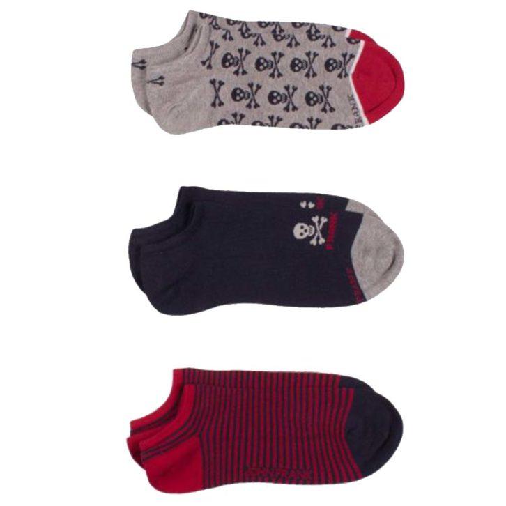 Κάλτσες John Frank 3pack -  JF3SS19S23 Πολύχρωμες