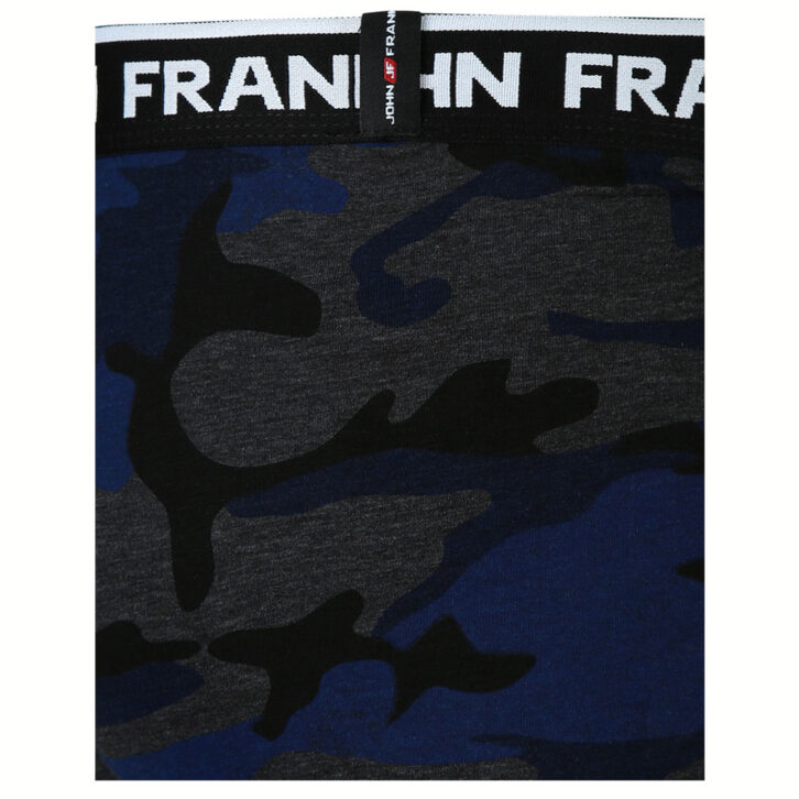 Ανδρικό Boxer John Frank - JFBD257-CAMO-1 - Πολύχρωμο