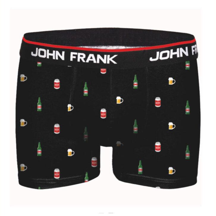 Ανδρικό Boxer John Frank Drinks - JFBP304 - Μαύρο