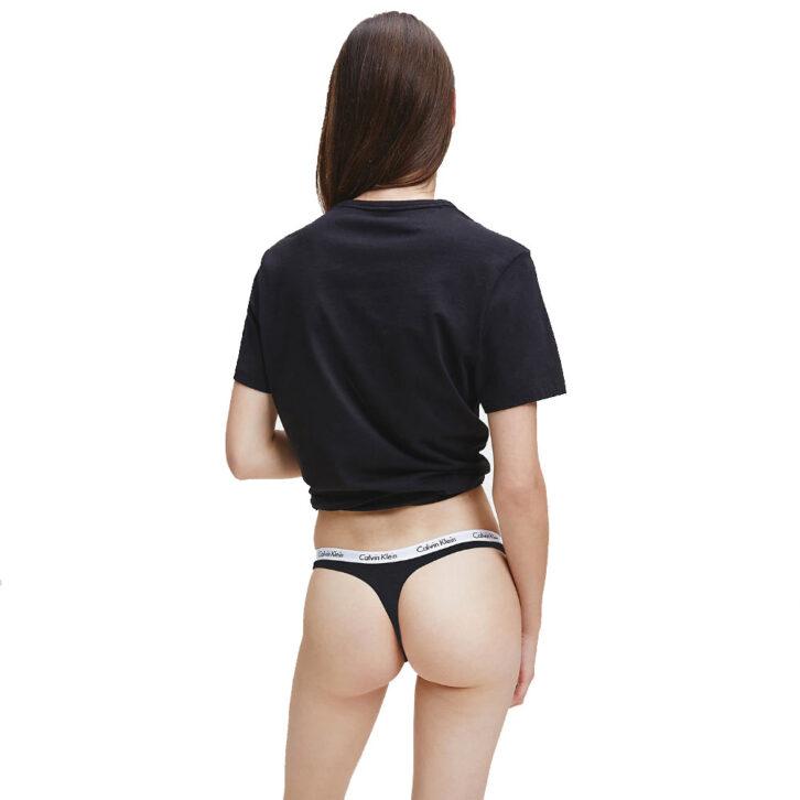 Γυναικείο String Calvin Klein 3 pack - 000QD3587E - QT6- Πολύχρωμο