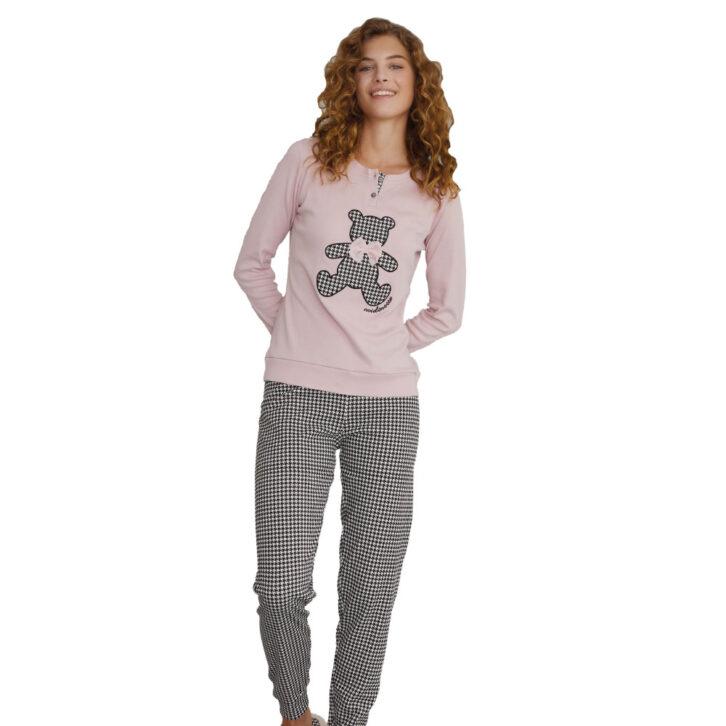 Γυναικεία πυτζάμα Noidinotte FA7125 Ροζ
