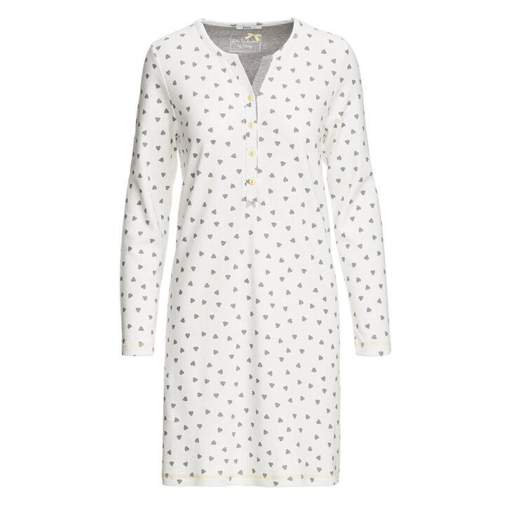 Γυναικείο νυχτικό Θηλασμού Vamp - 13556 - Λευκό