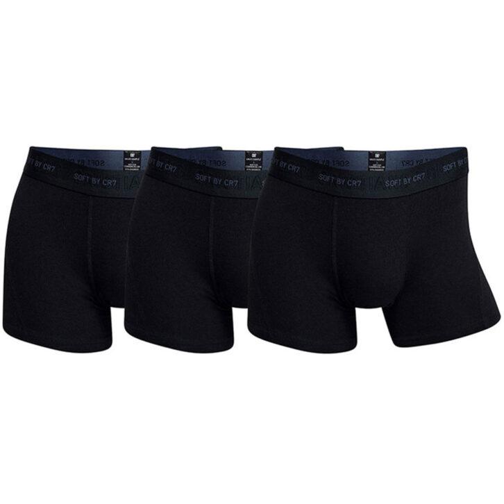 Ανδρικό Boxer CR7 3pack Bamboo - 8230-49-400 - Μαύρο