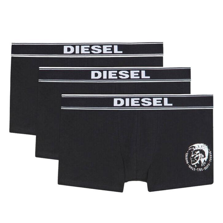 Ανδρικό Boxer Diesel 3pack - 00SAB2 0TANL 01 F - Μαύρο