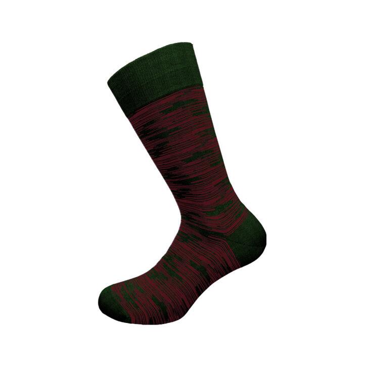 Ανδρική κάλτσα bamboo Walk W304-17 Πράσινη