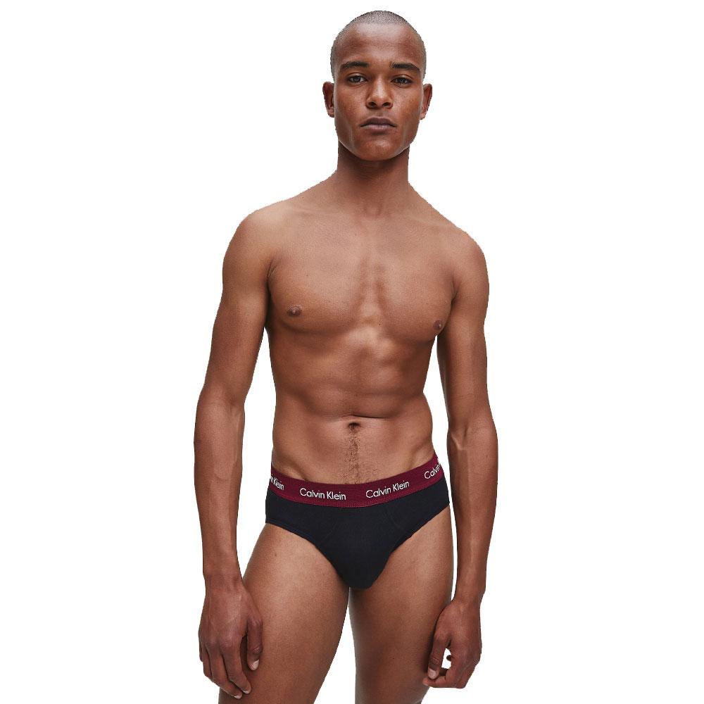 Ανδρικό Slip Calvin Klein 3 pack 0000U2661G-9IJ  Μαύρο