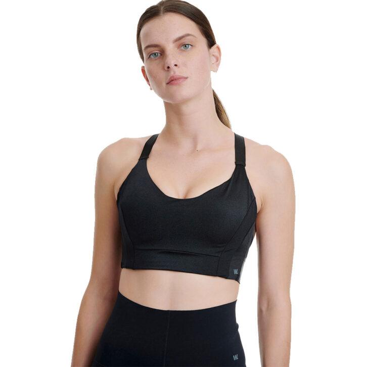 Γυναικείο Αθλητικό bralette Walk - W951 - Μαύρο