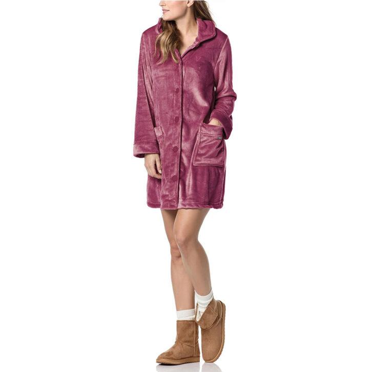 Γυναικεία Ρόμπα Vamp Fleece -  00-10-0401  - Ροζ