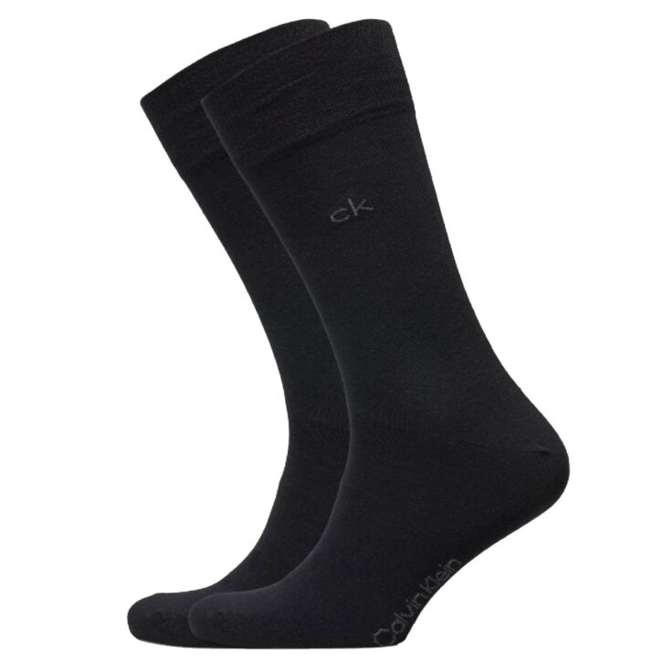 Κάλτσες Calvin Klein 2 pack - 100001876-001  Μαύρο