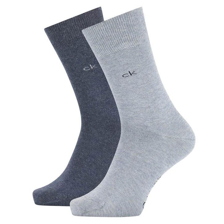 Κάλτσες Calvin Klein 2 pack - 100001876-006  Γκρι
