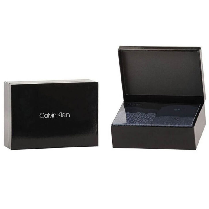 Κάλτσες Calvin Klein 3 pack Giftbox - 100002161-002  - Μπλε