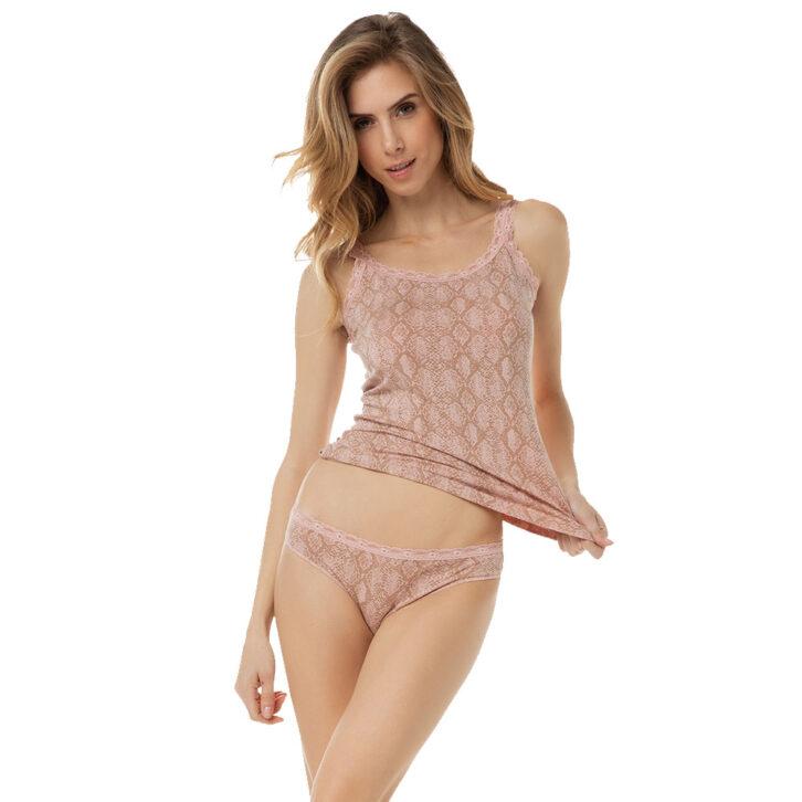 Γυναικείο top Minerva 90-81841 Ροζ
