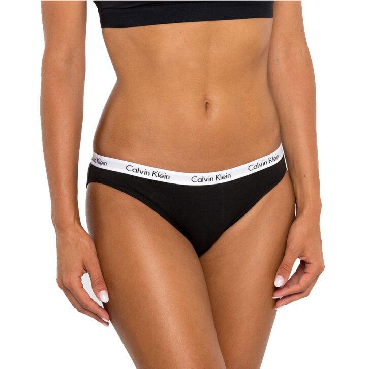 Γυναικείο Σλιπ Calvin Klein 3 pack - QD3588E-001 - Μαύρο