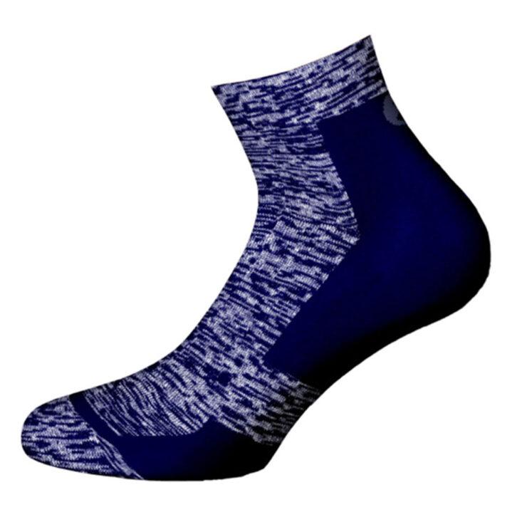 Ανδρική κάλτσα βαμβακερή Walk - W127-3  - Μπλε