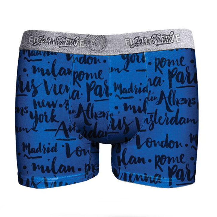 Ανδρικό Boxer John Frank 2pack  JF2BEF17  Μπλε