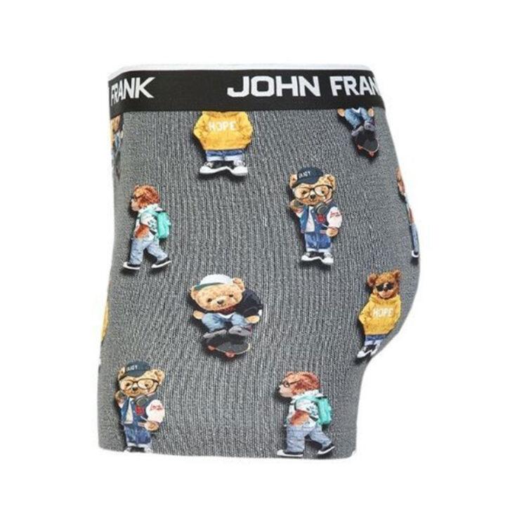 Ανδρικό Boxer John Frank Cool Teddy  JFBD325  Γκρι