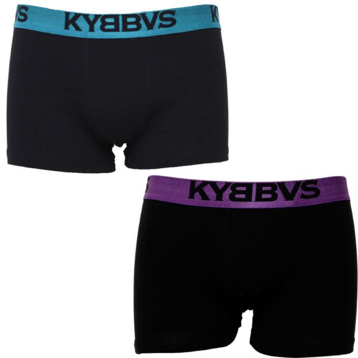 Ανδρικό boxer Kybbus 2 pack KB675 06-16  Μαύρο