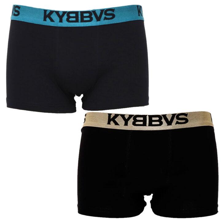 Ανδρικό boxer Kybbus 2 pack KB675 07-22  Μαύρο
