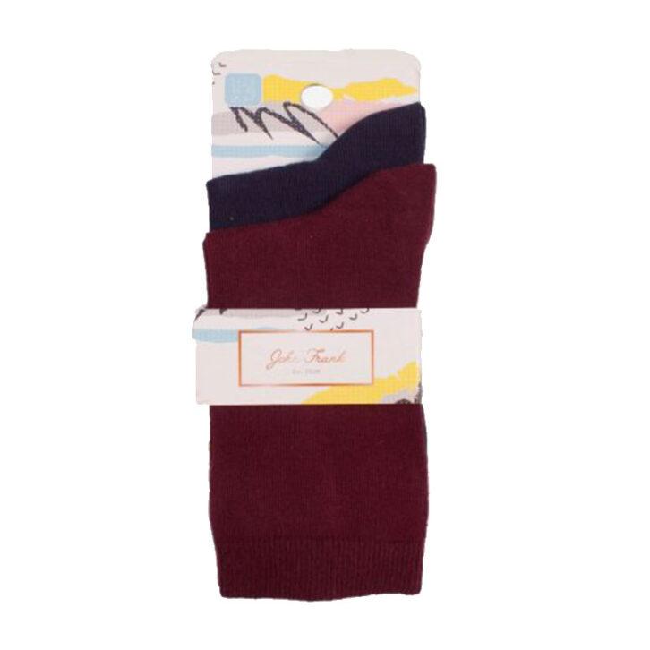 Γυναικεία κάλτσα John Frank 2 Pack  WJF2LS19-04  Πολύχρωμες