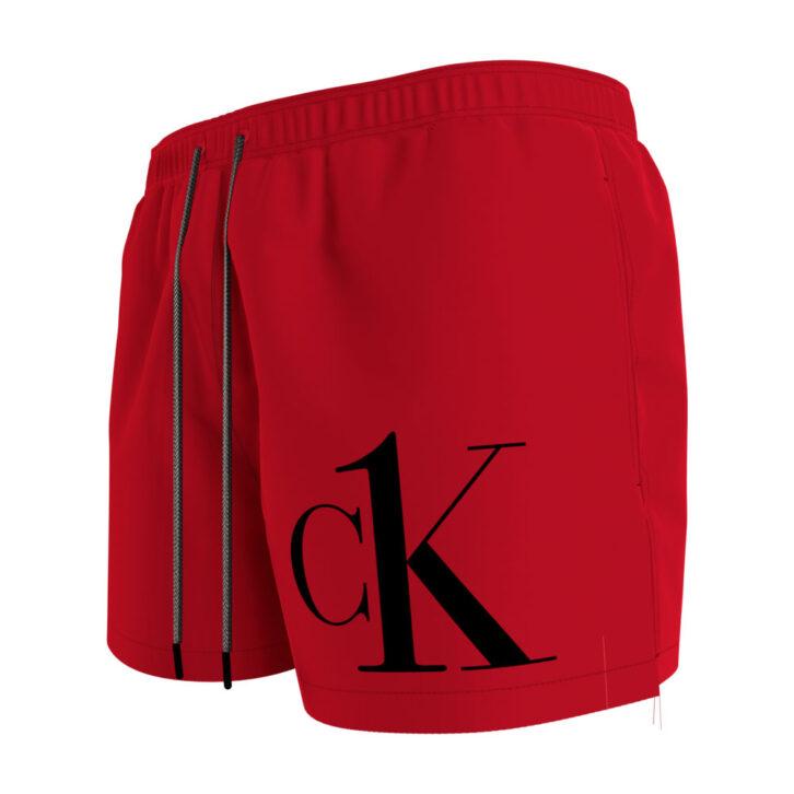 Ανδρικό Μαγιό Σορτς Calvin Klein KM0KM00591-XND Κόκκινο