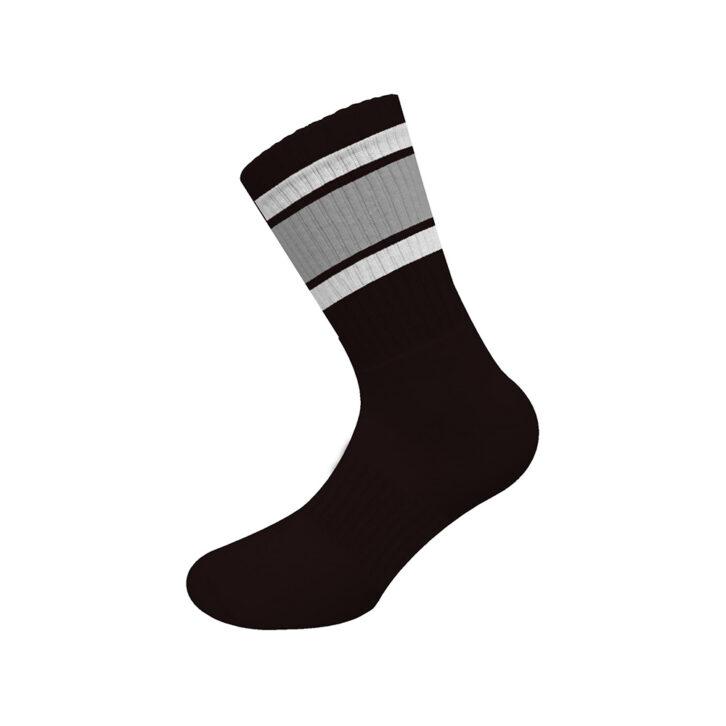 Ανδρικές Αθλητικές Βαμβακερές Κάλτσες Walk W1211-5-02 Μαύρο