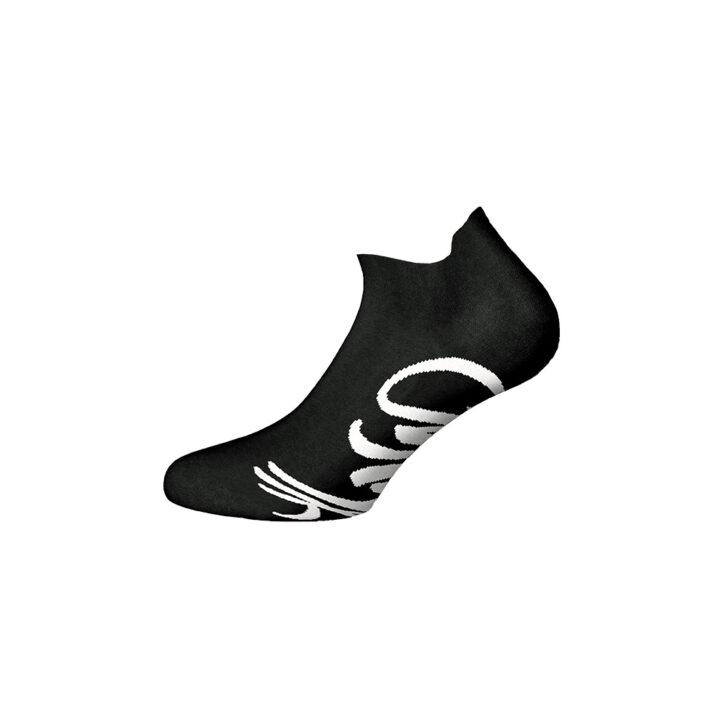 Ανδρικές Αθλητικές Βαμβακερές Κοφτές Κάλτσες Walk W124-1-02 Μαύρο