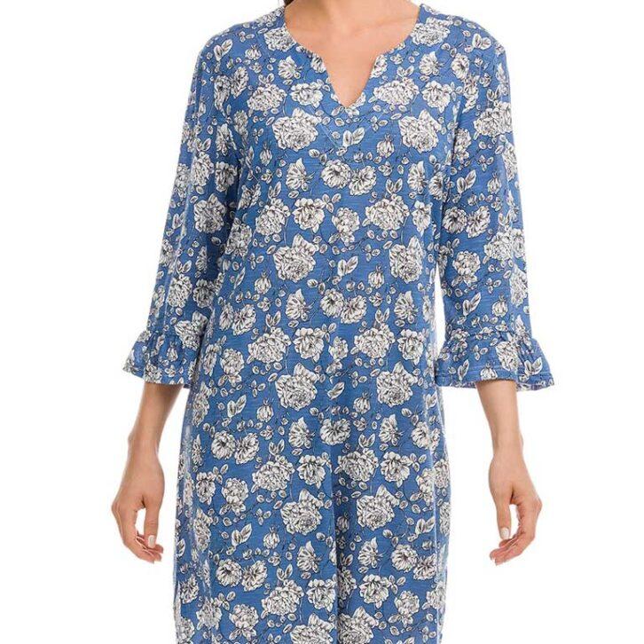 Φόρεμα Θαλάσσης Vamp-12505 Πολύχρωμο