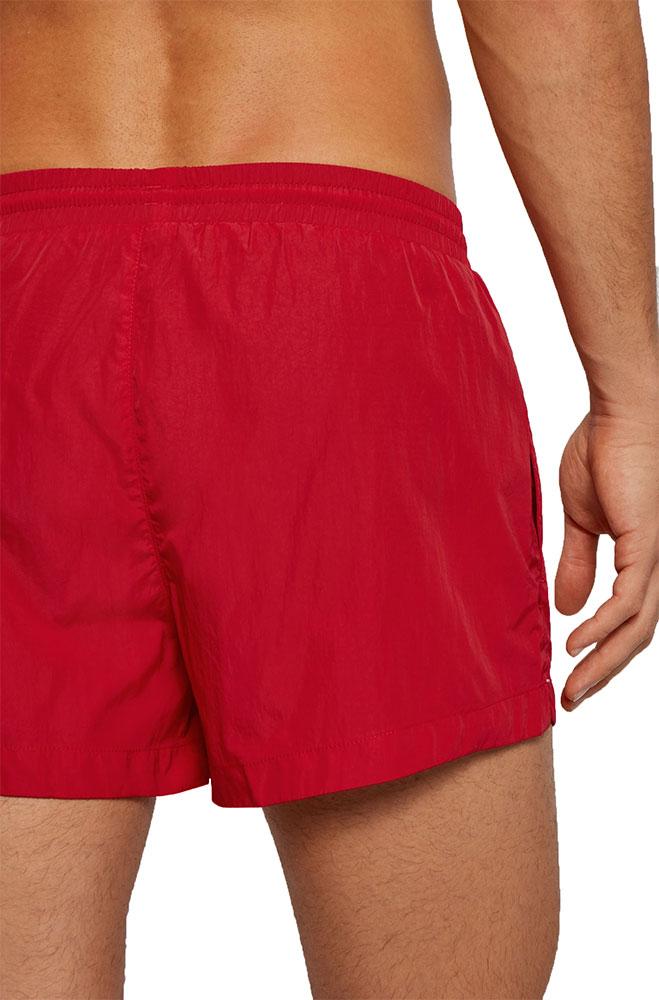 Ανδρικό Quick-Dry Κοντό Μαγιό Σορτς HUGO BOSS 50437378-628 Κόκκινο
