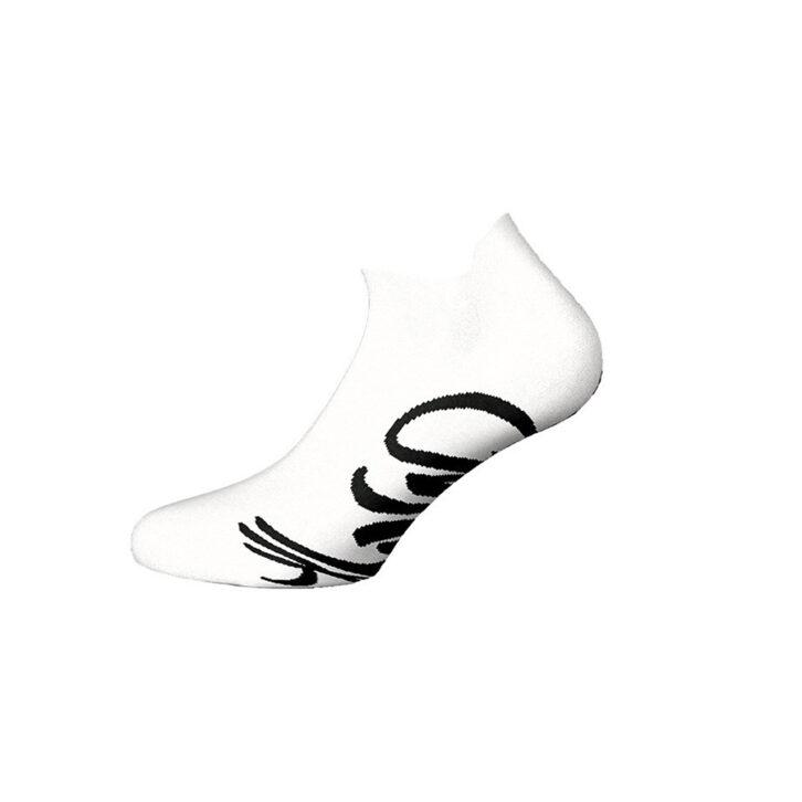 Ανδρικές Αθλητικές Βαμβακερές Κοφτές Κάλτσες Walk W124-1-01 Λευκό