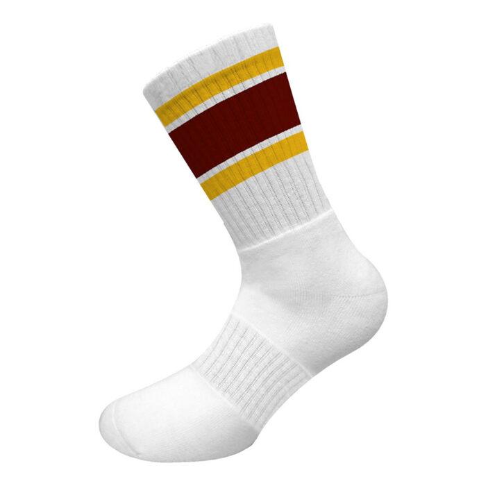 Ανδρικές Αθλητικές Βαμβακερές Κάλτσες Walk W1211-5 Λευκό