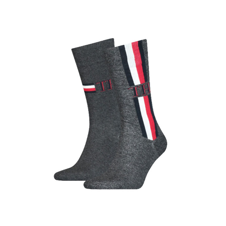 Ανδρικές Κάλτσες Tommy Hilfiger 2pack 100001492-001 Μαύρο