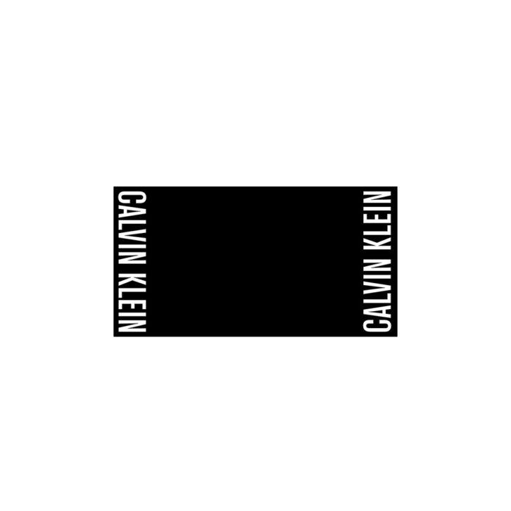 Πετσέτα Θαλάσσης Calvin Klein 170 x 90cm KU0KU00076-BEH Μαύρο
