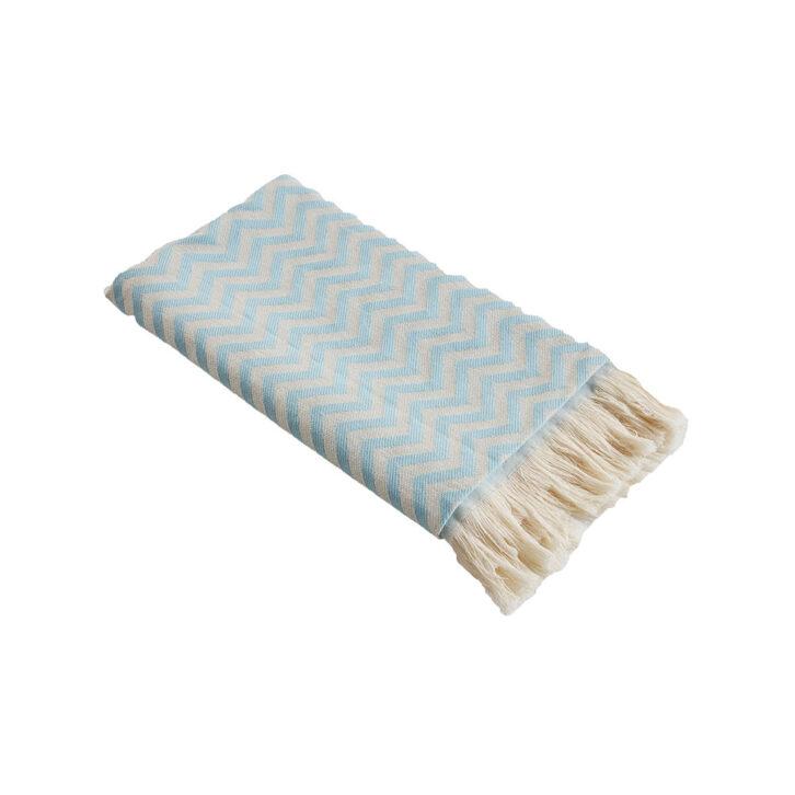 Πετσέτα Θαλάσσης Geometric με Κρόσσια Vamp 00-36-0115 Πολύχρωμο