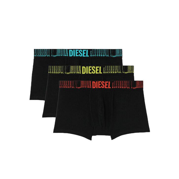 Ανδρικό Boxer Diesel 3Pack 00ST3V-0ADAQ-E4101 Μαύρο