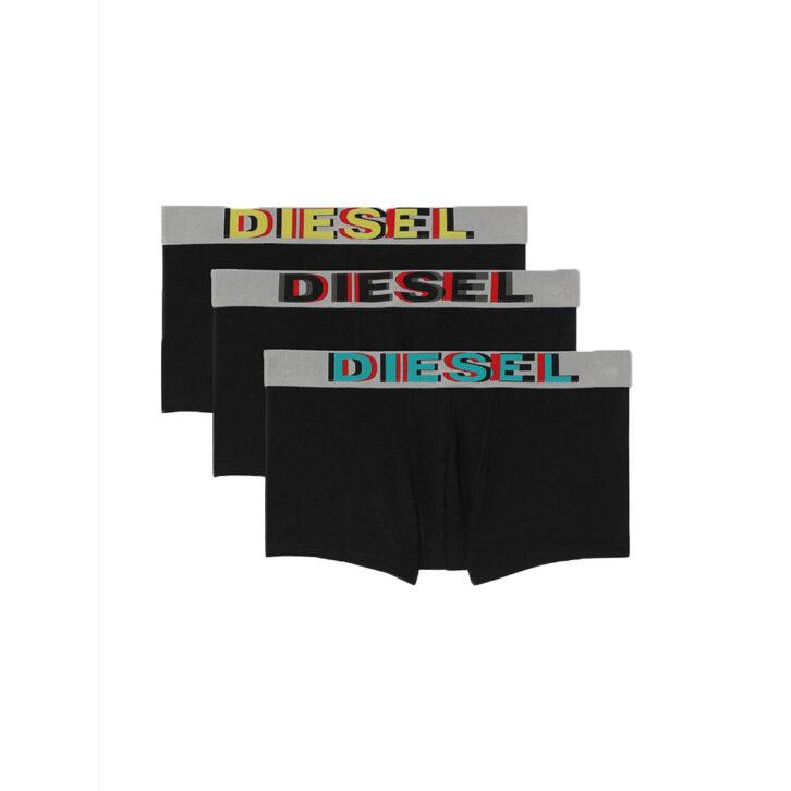 Ανδρικό Boxer Diesel 3Pack 00SAB2-0ADAV-E4101 Μαύρο