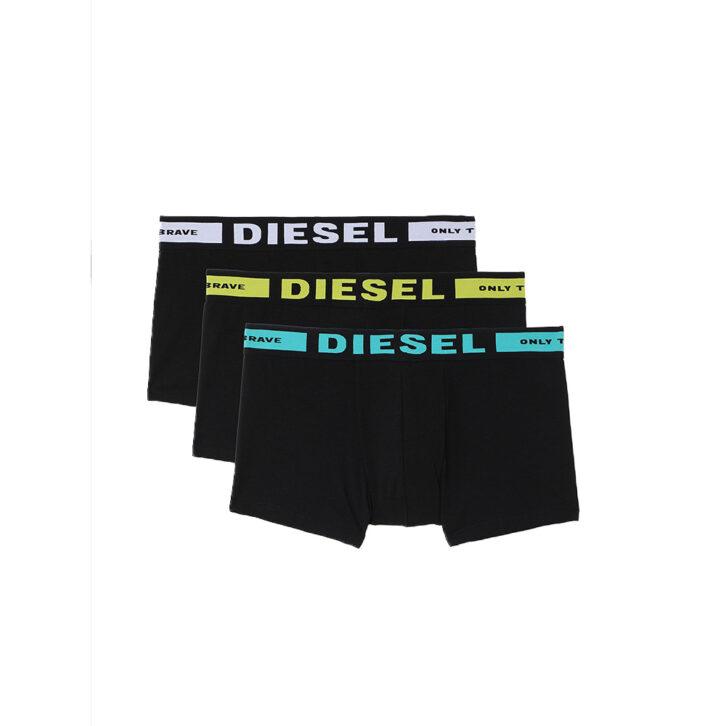 Ανδρικό Boxer Diesel 3Pack 00CKY3-0BAOF-E5451 Μαύρο