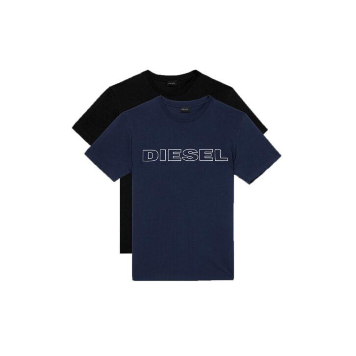 Ανδρικό Βαμβακερό T-shirt Diesel 2pack A02117-0DARX-E2617 Πολύχρωμο