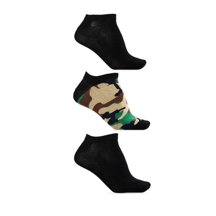 Unisex Χαμηλές Κάλτσες DIESEL 3-pack 00SI8H-0HAZV-E5468 Μαύρο