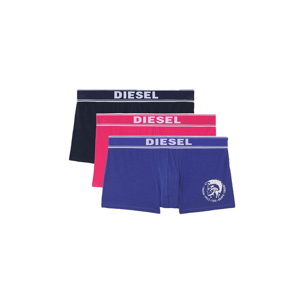 Ανδρικά Boxer Cotton Stretch DIESEL 3-pack 00SAB2-0TANL-E5447 Πολύχρωμο