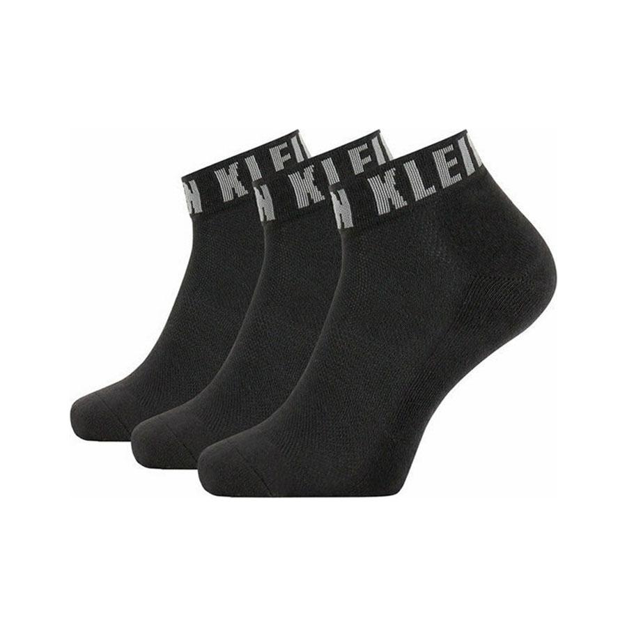 Ανδρικές Βαμβακερές Ημίκοντες Κάλτσες Calvin Klein 3pack 100001880-001 Μαύρο