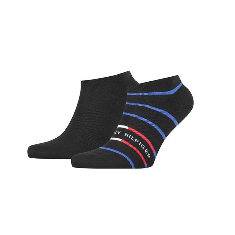 Ανδρικές Χαμηλές Κάλτσες 2pack Tommy Hilfiger 100002211-002 Μαύρο