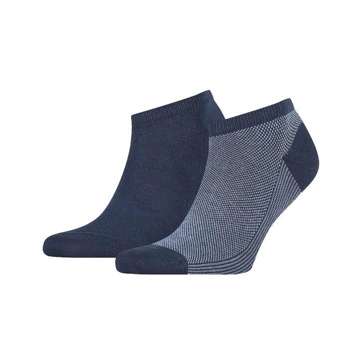 Ανδρικές Χαμηλές Κάλτσες 2pack Tommy Hilfiger 100002661-004 Μπλε Σκούρο