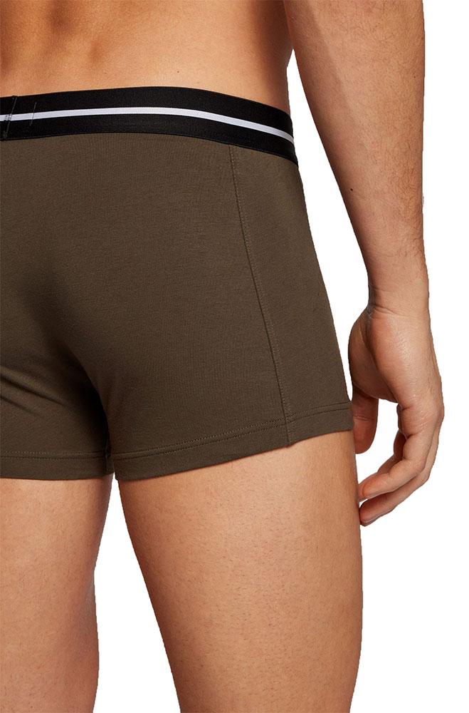 Ανδρικό Boxer Organic Cotton Stretch HUGO BOSS 3-pack 50451408-301 Πολύχρωμο