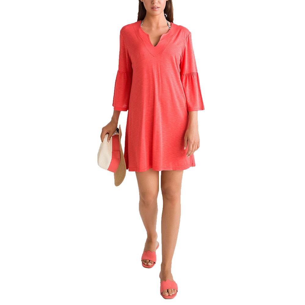 Γυναικείο Φόρεμα Θαλάσσης Vamp 00-10-6006 Κοραλλί