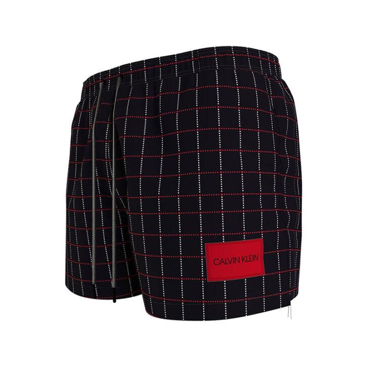 Ανδρικό Μαγιό Σορτς Short Drawstring Calvin Klein KM0KM00624-0GM Μαύρο