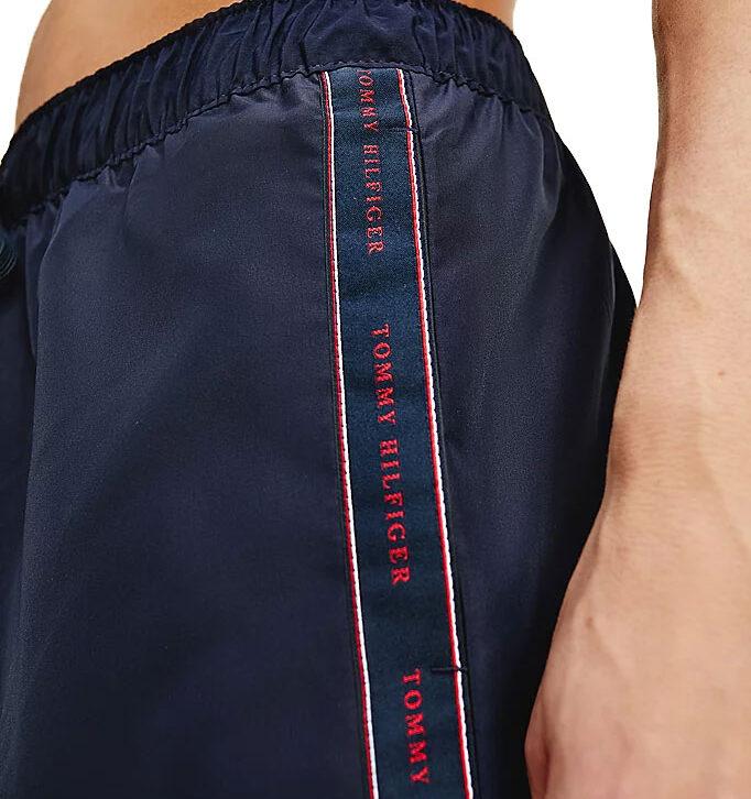 Ανδρικό Μαγιό Tommy Hilfiger UM0UM02063-DW5 Μπλε Σκούρο