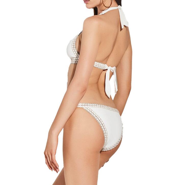 Γυναικείο Tanga Bikini Slip Lida 9-1480 Λευκό