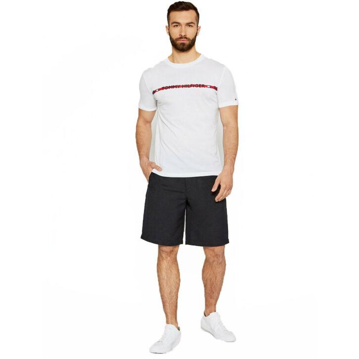 Ανδρικό T-Shirt Tommy Hilfiger UM0UM01915-YBR Λευκό