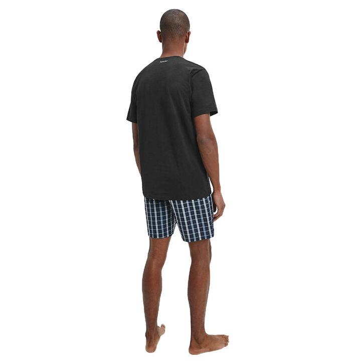 Ανδρική Πυτζάμα Calvin Klein 000NM1746E-JVT Μαύρο