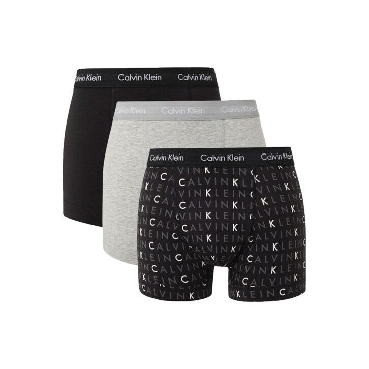 Ανδρικό Βoxer Calvin Klein 3pack U2662G-YKS Πολύχρωμο